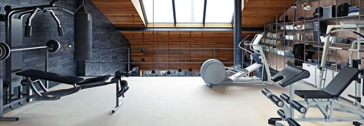 Домашний спортзал под ключ